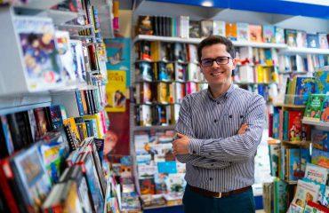 Jose Lusi, la cabeza pensante de la libreria Numara.